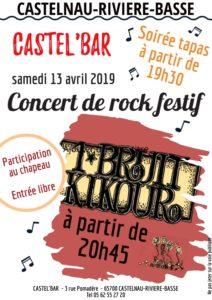 Concert de Rock Festif @ Salle St. Cyr